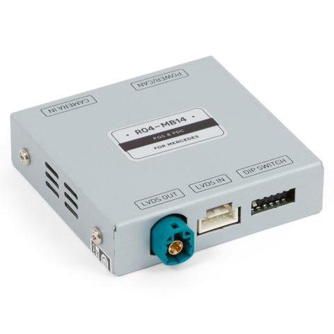 Адаптер для подключения камеры в Mercedes Benz с системой NTG 5.0 5.1 c парковочными линиями