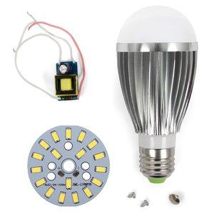 LED Light Bulb DIY Kit SQ-Q03 9 W (cold white, E27)