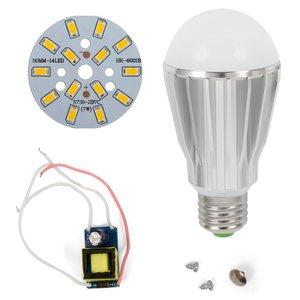LED Light Bulb DIY Kit SQ-Q17 7 W (warm white, E27), Dimmable