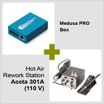 Medusa PRO Box + Hot Air Rework Station Accta 301A (110 V)