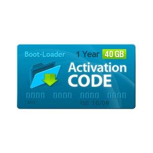 Boot-Loader v2.0 Código de activación (1 año, 40+5 GB)