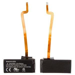 Batería recargable para reproductores MP3 Apple iPod Classic 120GB, iPod Classic 160GB, iPod Video 60GB, iPod Video 80GB, #616-0232