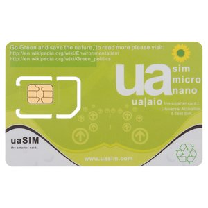 ua SIM - tarjeta SIM universal para activar y probar el iPhone  3G / 3GS / 4 / 4S / 5 / 5C / 5S / 5SE / 6 / 6 Plus / 6S / 6S / 7 / 7 Plus