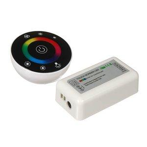 Контроллер c круглым тачпультом HTL-046 (RGB, 5050, 3528, 216 Вт)