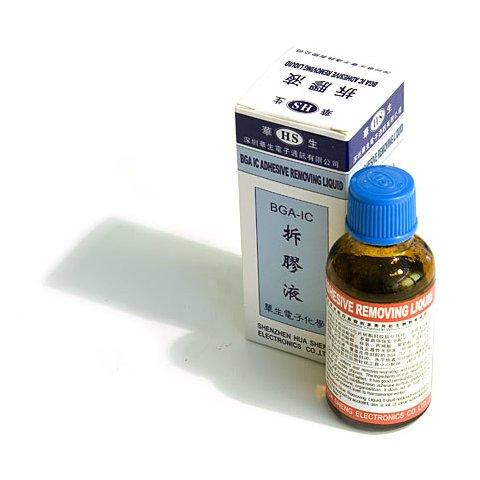 Растворитель для клееных микросхем (30 мл)