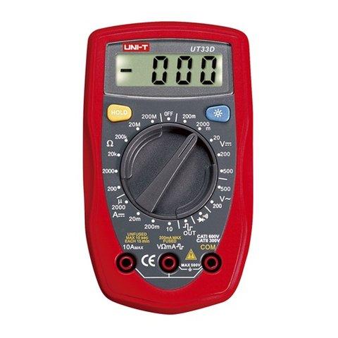 Кишеньковий цифровий мультиметр UNI T UTM 133D UT33D