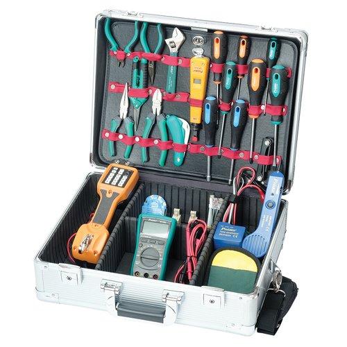 Набор инструментов Pro'sKit PK-14019B для телекоммуникационных сетей