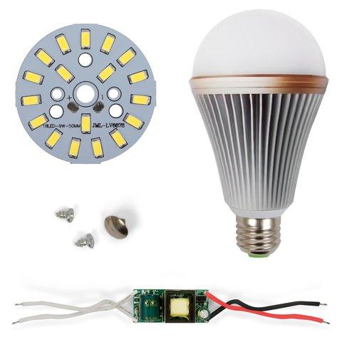 Комплект для збирання LED-лампи SQ-Q24 5730 E27 9 Вт – холодний білий