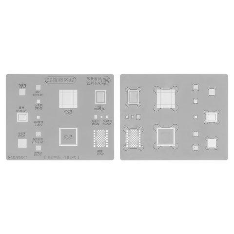3D BGA трафарет A9 для мобільних телефонів Apple iPhone 6S, iPhone 6S Plus